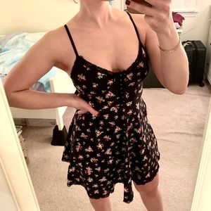 Fit-and-flare summer dress